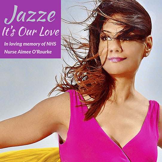 Jazze It's Our Love single out September 25th 2020 in aid of charity
