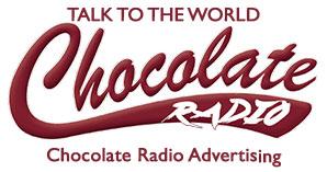 Chocolate Radio advertising logo