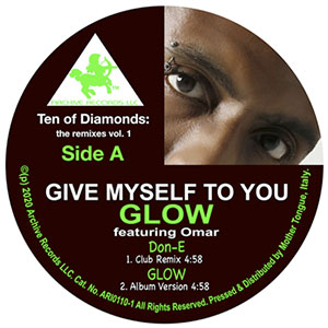 Glow Ft Omar Give Myself To You New Chart Single