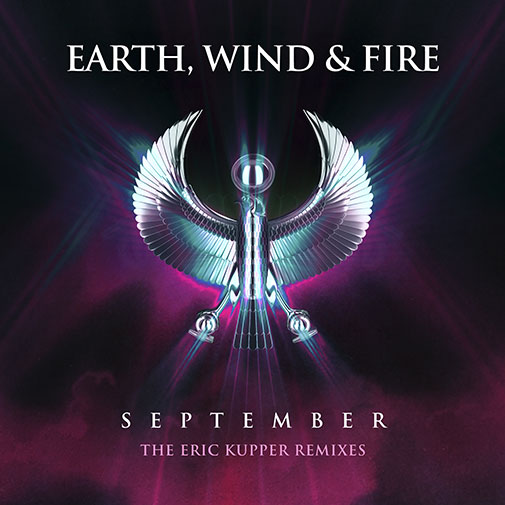 Earth Wind & Fire September 2020 remix by Eric Kupper played on Chocolate radio