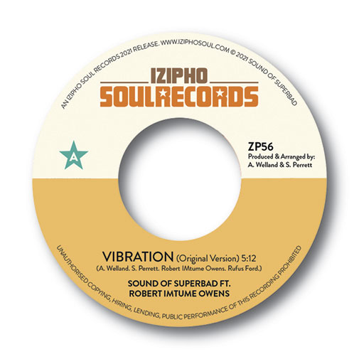 New Single From Sound Of Superbad Vibration out Jan 2021
