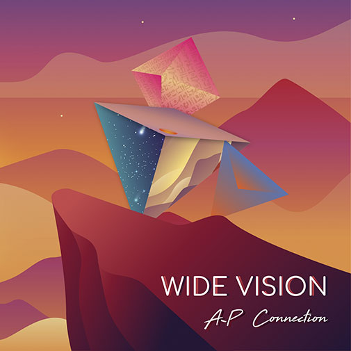 CD Cover new AP Connection Album Wide Vision out June 2021