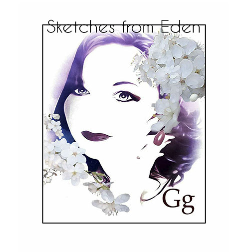 CD Cover new Gg Album Sketches From Eden out June 2021