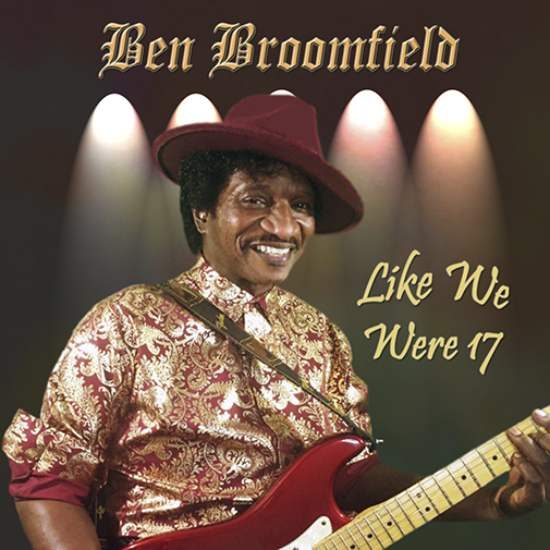 CD Cover new Ben Broomfield Single Like We Were 17 out June 2021