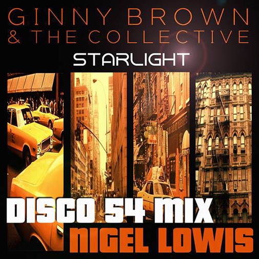 CD Cover new Ginny Brown & The Collective Starlight out June 2021
