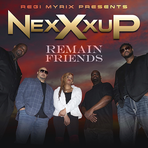 NexXxup new single Remain Friends new single out July 2021 cd-cover