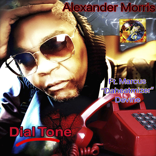 Alexander Morris new single Dial Tone cd cover Out July 2021