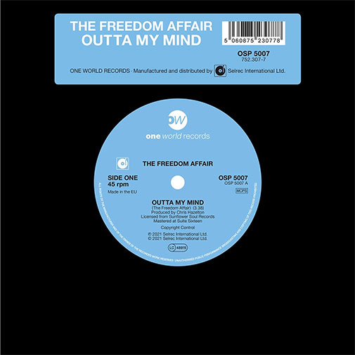 The Freedom Affair new single Out of My Mind out August 2021