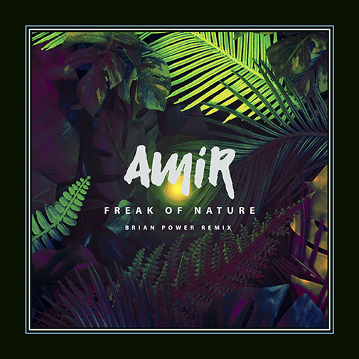Amir new single FREAK OF NATURE The (Brian-Power-remix) out October 2021
