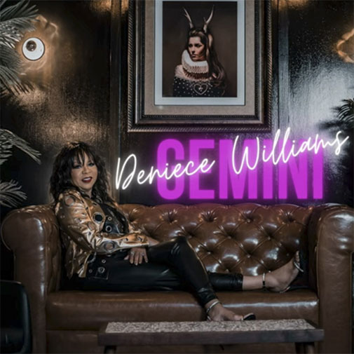 Deniece Williams new single One-Kiss from the LP Gemini out October 2021